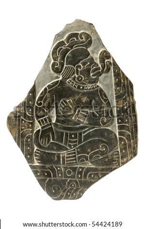 Ancient Culture Bas-Relief Stele - stock photo