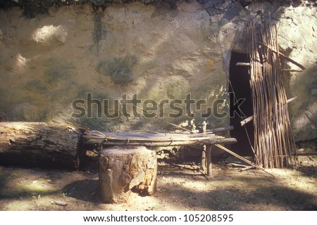 Ancient dwelling, Tasalagi Village in the Cherokee Nation, OK