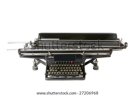 Ancient Email - stock photo