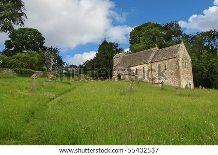 Ancient English Norman church
