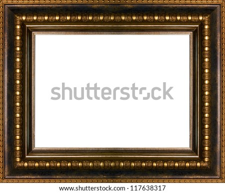 Ancient Frame Picture Stock Photo (Royalty Free) 117638317 ...