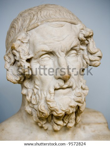 ancient greek bust
