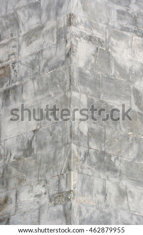 Ancient Marble Building Corner
