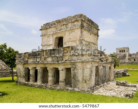 Ancient Mayan ruins at Tulum