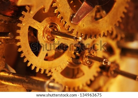 Ancient mechanical gears