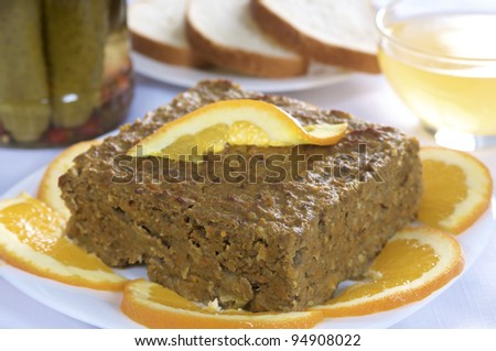 ancient pate - stock photo