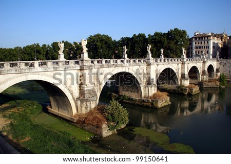 Ancient Roman bridge