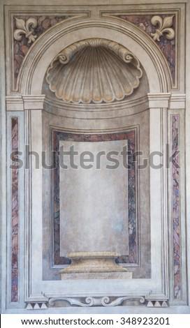 Ancient Rome Architecture - stock photo