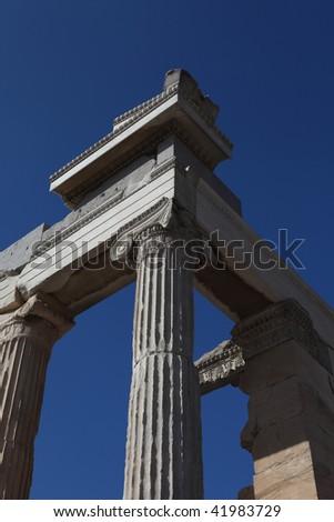 Ancient Ruins - stock photo