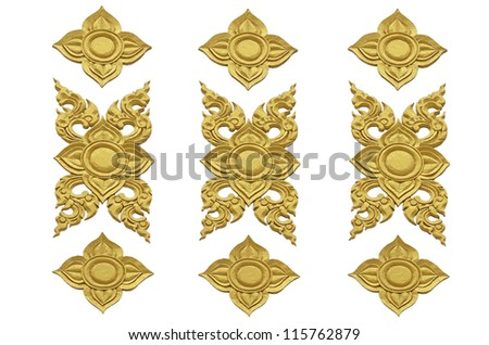 ancient Siam pattern - stock photo