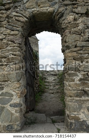 Ancient Stone Arch And Staircase