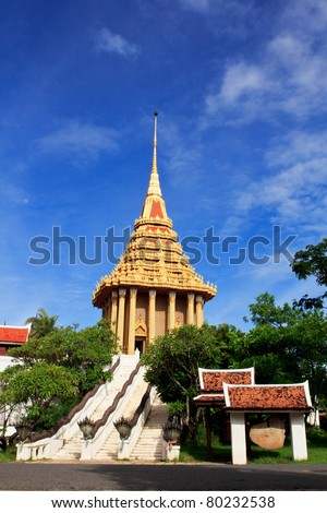Ancient stupa in ancient towns