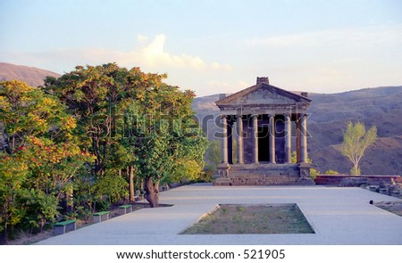 Ancient temple - stock photo