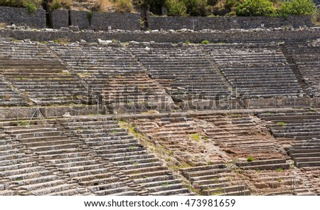 Ancient Theater of Ephesus, Selcuk, Turkey
