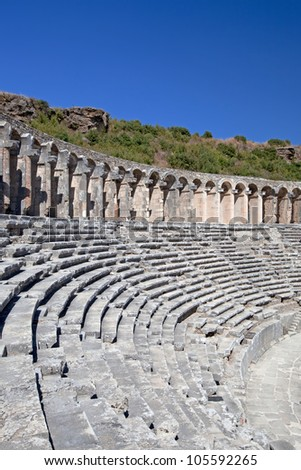 Ancient theatre of Aspendos in south Turkey