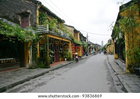 Ancient town Hoi An, Vietnam - stock photo