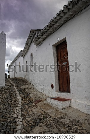 ancient village of Mertola, in Alentejo, Portugal - stock photo