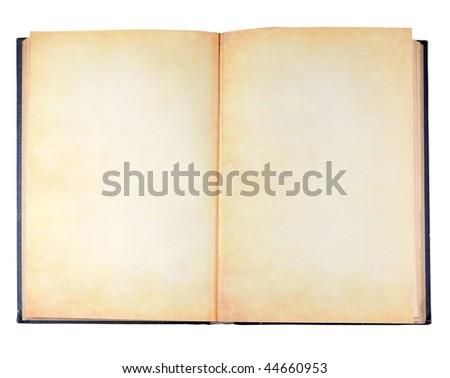 Ancient vintage book - stock photo