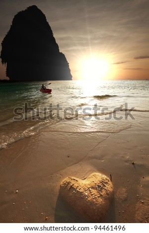 Andaman Sea in Thailand