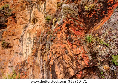 Andes of Peru - stock photo