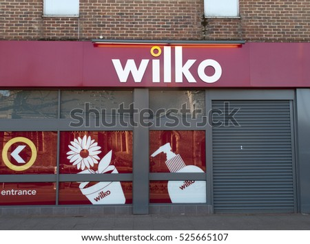 Andover high street hampshire england 29 november 20116 wilko shop