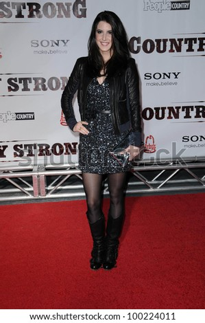 "Andrea Pearson at the ""Country Strong"" Nashville Premiere, Regal Green Hills, Nashville TN. 11-8-10"