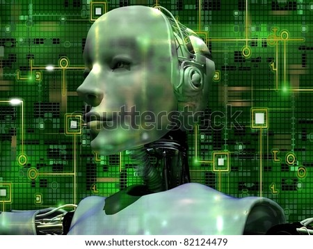 Android Reveals Internal Technology Of Their Electrical Circuit 01 - stock photo