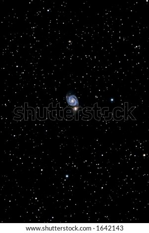 Andromeda Galaxy - stock photo