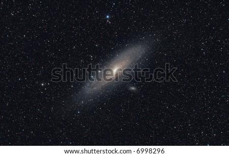 Andromeda Galaxy (M31) - stock photo