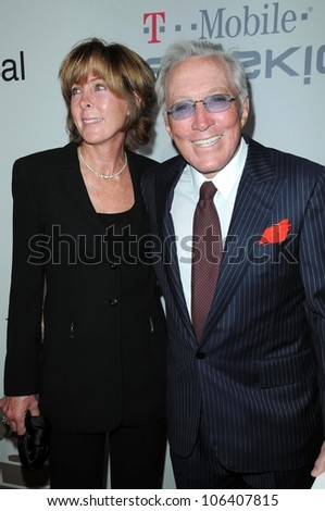 Andy Williams at the Salute To Icons Clive Davis Pre-Grammy Gala. Beverly Hilton Hotel, Beverly Hills, CA. 02-07-09 - stock photo