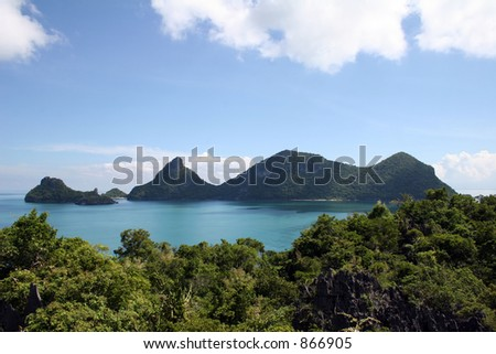 Ang Thong Islands - Thailand - stock photo
