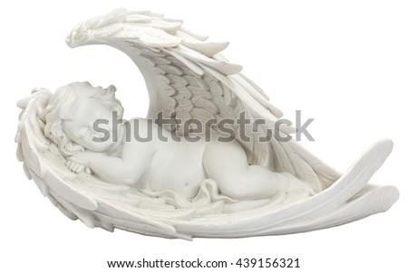 angel decor - stock photo