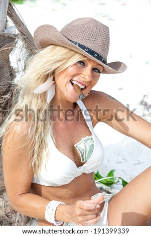 Angel in Paradise - stock photo