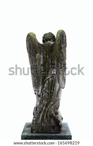 angel isolated on white