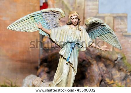 Angel of the Nativity - stock photo