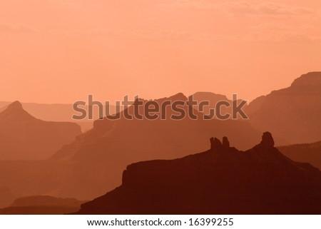 Angel's Gate - Grand Canyon - stock photo
