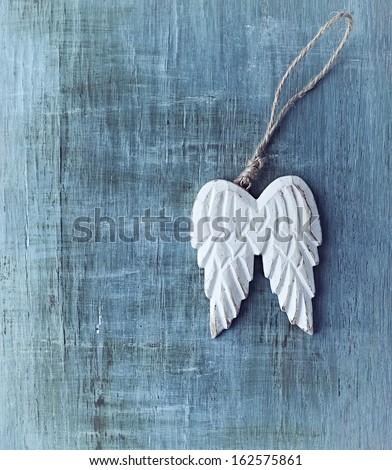 Angel Wings - stock photo