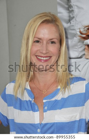 "Angela Kinsey at the premiere of ""A Little Help"" at the Cary Grant Theatre at Sony Pictures Studios. July 14, 2011  Los Angeles, CA Picture: Paul Smith / Featureflash"