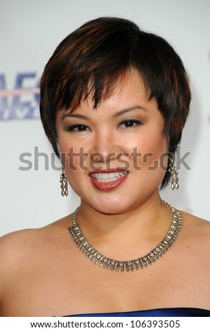 Angelin Chang at the 2009 Musicares Person of the Year Gala. Los Angeles Convention Center, Los Angeles, CA. 02-06-09