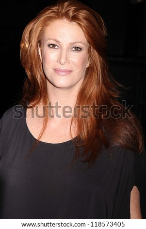 Angie Everhart at the Maggie Barry SS 2013 Runway Show, Exchange LA, Los Angeles, CA 10-15-12