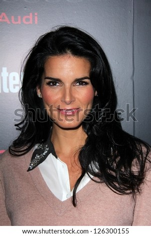 Angie Harmon at the Entertainment Weekly Pre-SAG Party, Chateau Marmont, West Hollywood, CA 01-26-13