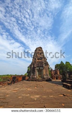 angkor tample - stock photo