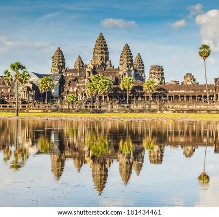 Angkor Wat, Cambodia - stock photo