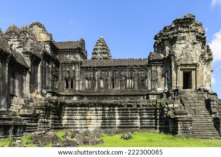 Angkor Wat, Cambodia, the largest religious monument in the world, UNESCO World Heritage