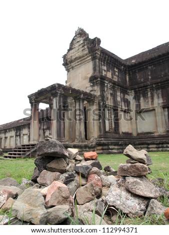 Angkor Wat in Siem Reap, Cambodia - stock photo