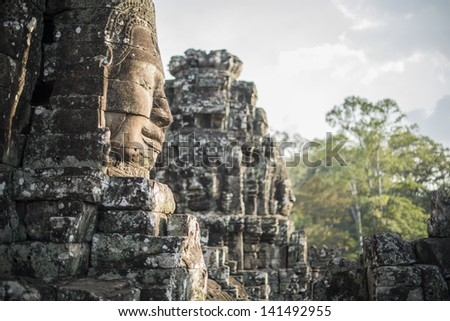 Angkor Wat, Siem Reap, Cambodia - stock photo