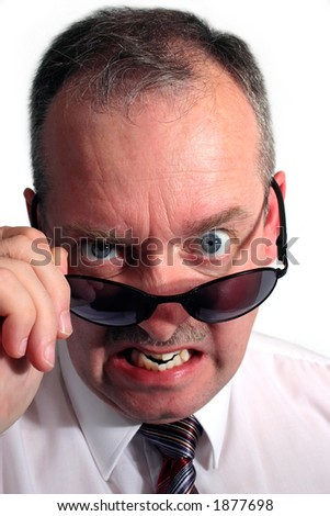 Angry - stock photo