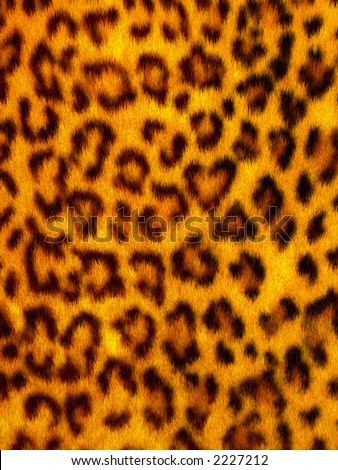 Animal Fur - Leopard - stock photo
