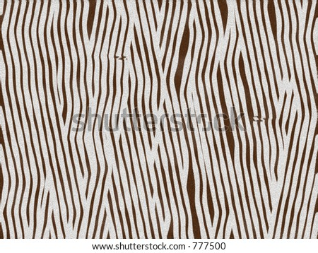 Animal fur texture - zebra baby - stock photo