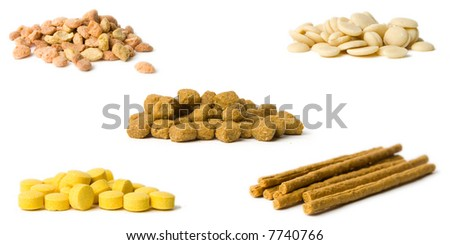 Animal nutritional supplements - stock photo